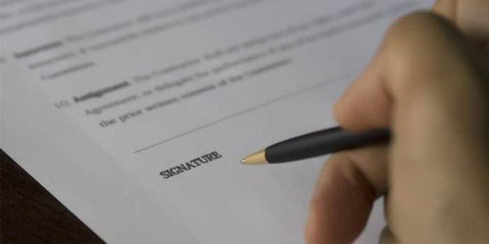 Kontraktskrivning sälja bostad