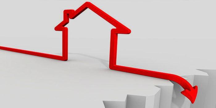 Fallande bostadspriser