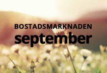 Sälja lägenhet eller hus i september