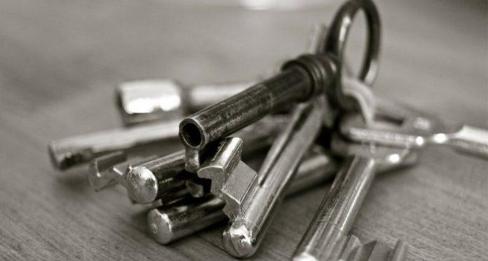 Nycklar tillträde