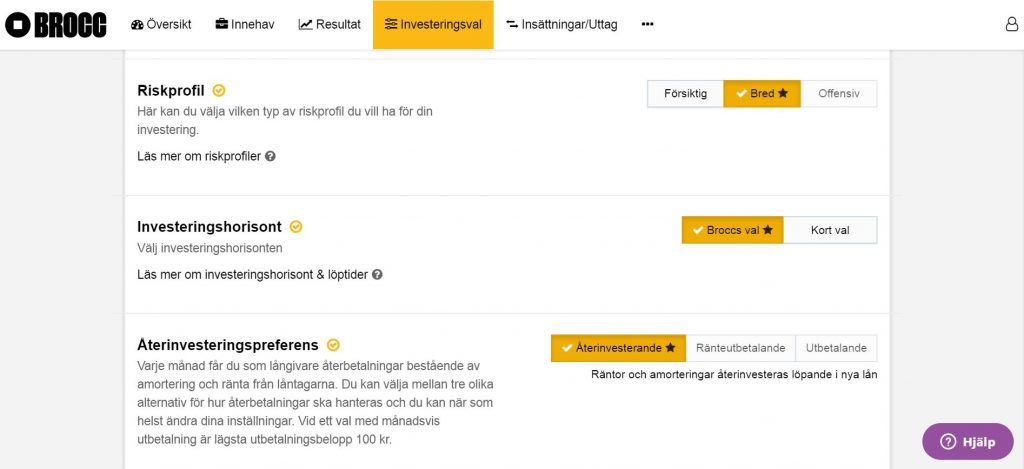 Brocc val på kontot Ekonomifokus.se