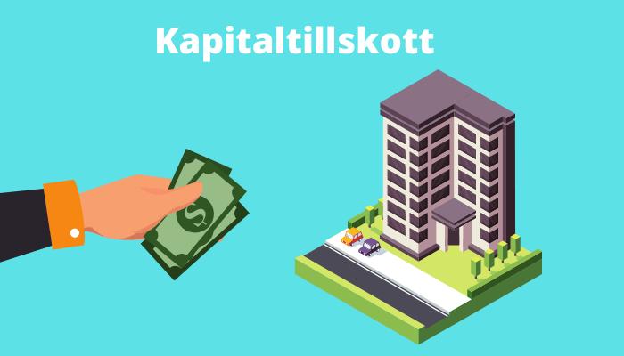 Kapitaltillskott bostadsrättsförening