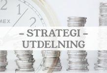 Utdelningsstrategin