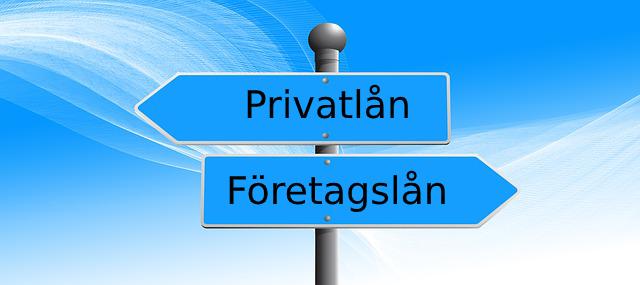 privatlån eller företagslån