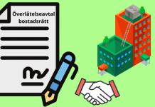 Överlåtelseavtal bostadsrätt mall