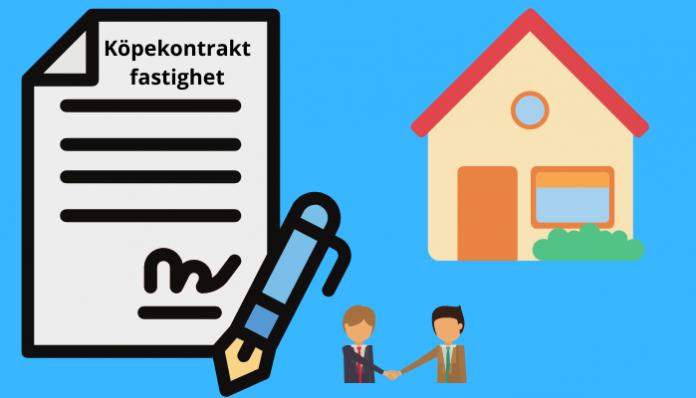 Köpekontrakt fastighet mall avtal