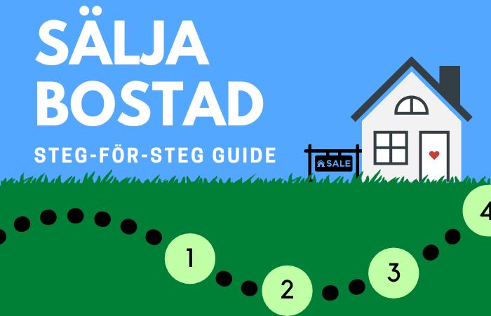 Sälja bostad steg-för-steg guide