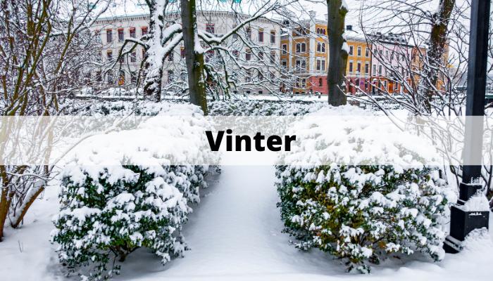 sälja bostad under vintern