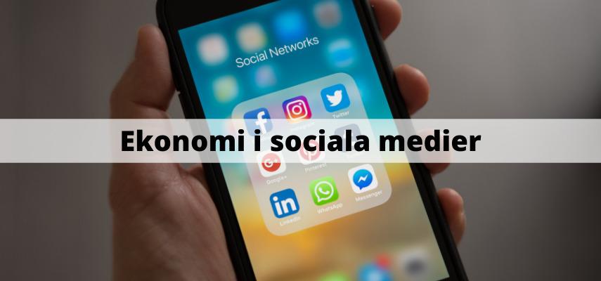Ekonomi i sociala medier
