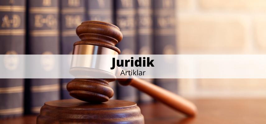 Juridik - artiklar
