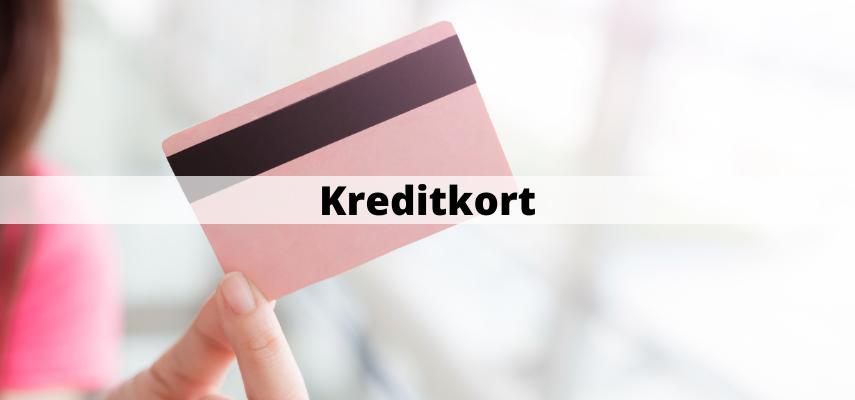 Kreditkort - artiklar