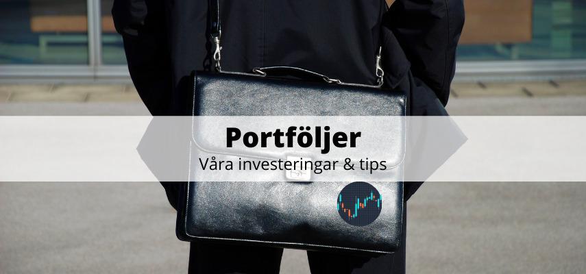 Portföljer - investeringar