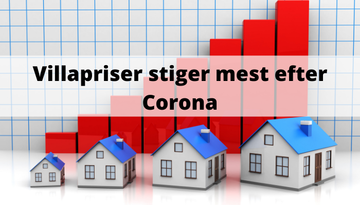 Villapriser stiger mest efter Corona